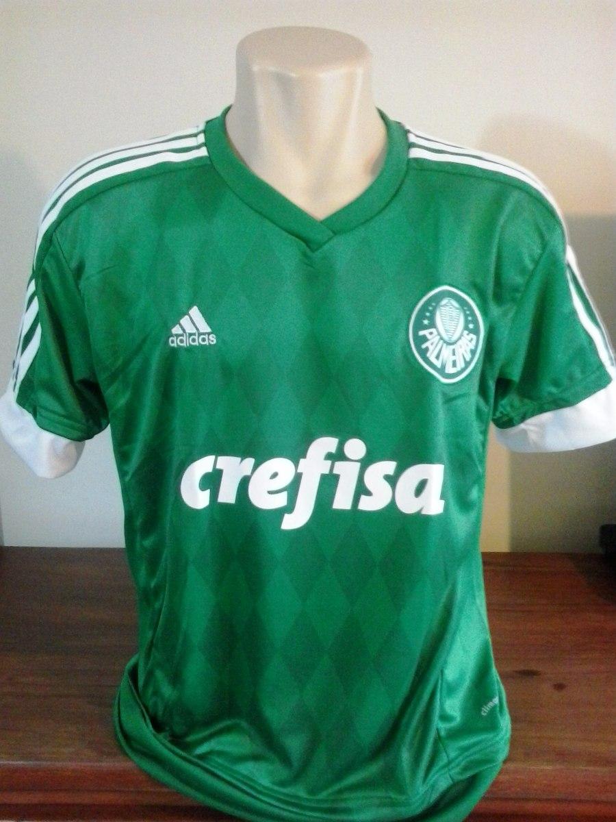 Camisa Do Palmeiras 2014 2015 Frete Grátis Via Sedex - R  85 e141a320ef896