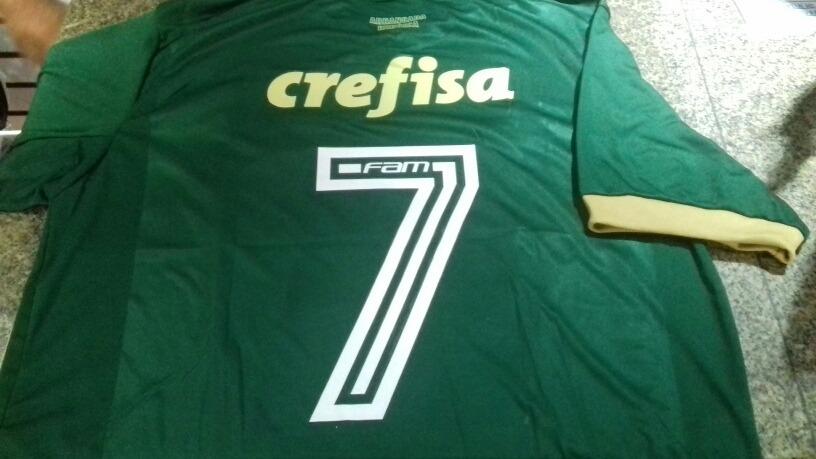 fdfcae4e1f Camisa Do Palmeiras 2017-2018 Terceiro Uniforme - R  69