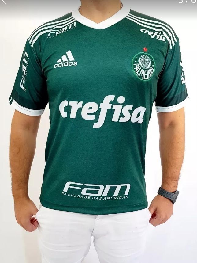 1332f53176 Camisa Do Palmeiras 2018 Brasileirão Nova Promoção - R  89