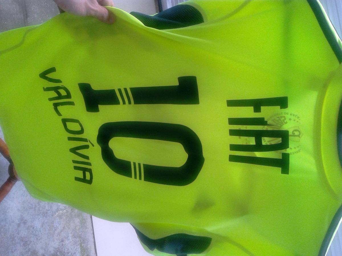 camisa do palmeiras adidas valdívia nº 10 verde limão usada. Carregando  zoom. 025a414e6b36d