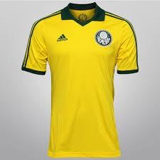 Camisa Do Palmeiras Amarela ( Personalizada ) - R  75 c1ddeaf52ea27
