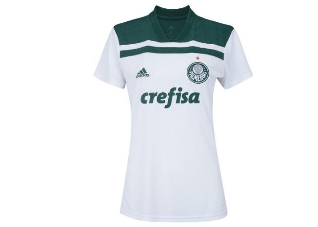 823cf5c922f97 Camisa Do Palmeiras Feminina 2018 Oficial - Com Desconto - R  139