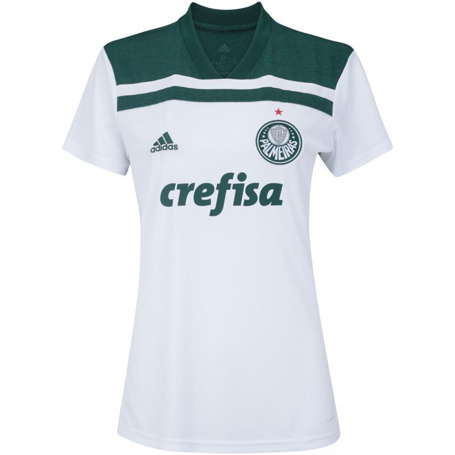 0e5093024f Camisa Do Palmeiras Feminina Baby Look Mulher Time Nova - R  119