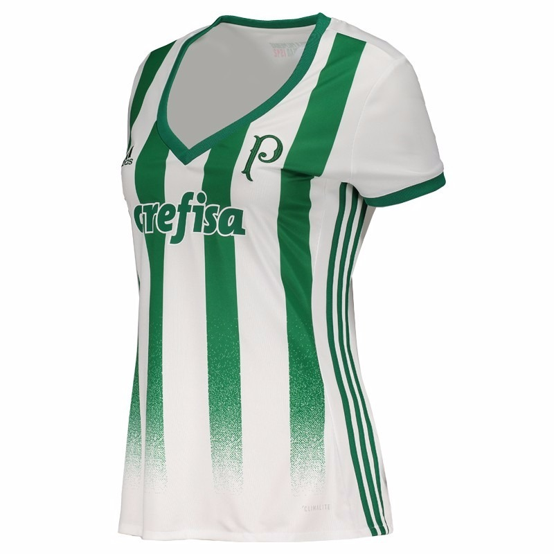 faa9920ddbc07 Camisa Do Palmeiras Feminina Baby Look Mulher Time Nova - R  79