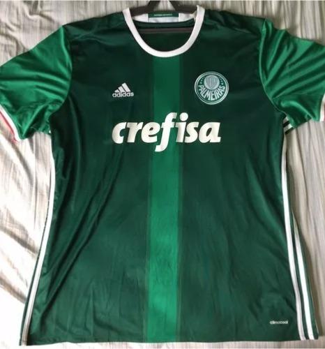 04bafe998 Camisa Do Palmeiras I 2016 adidas - Masculina Tam 2gg - R$ 260,00 em ...
