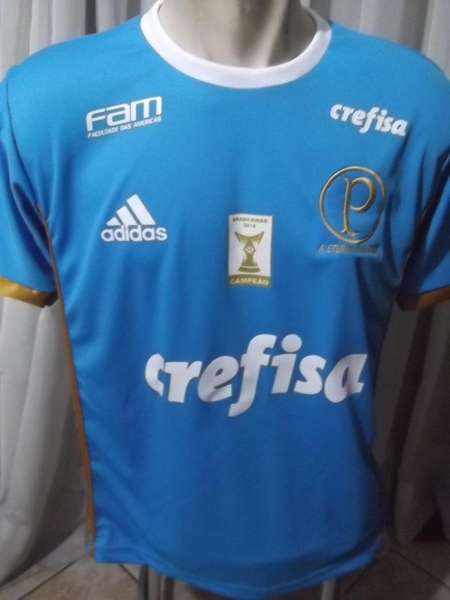 ef786c80bc Camisa Do Palmeiras Primeira Linha Bordada Aceito Mp Grata!! - R  39 ...
