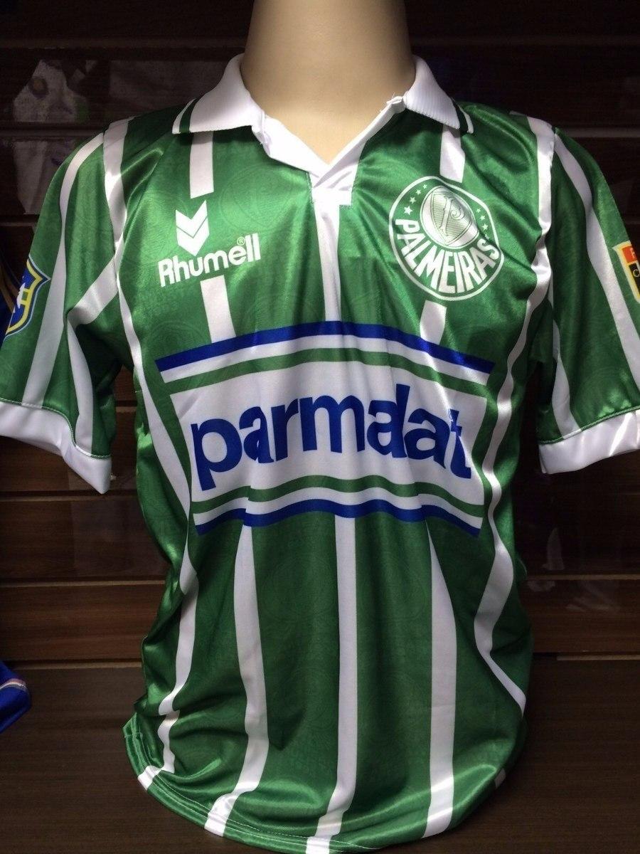 Camisa Do Palmeiras Retro 1993 Parmalat Pronto Entrega - R  50 2457606747cbc