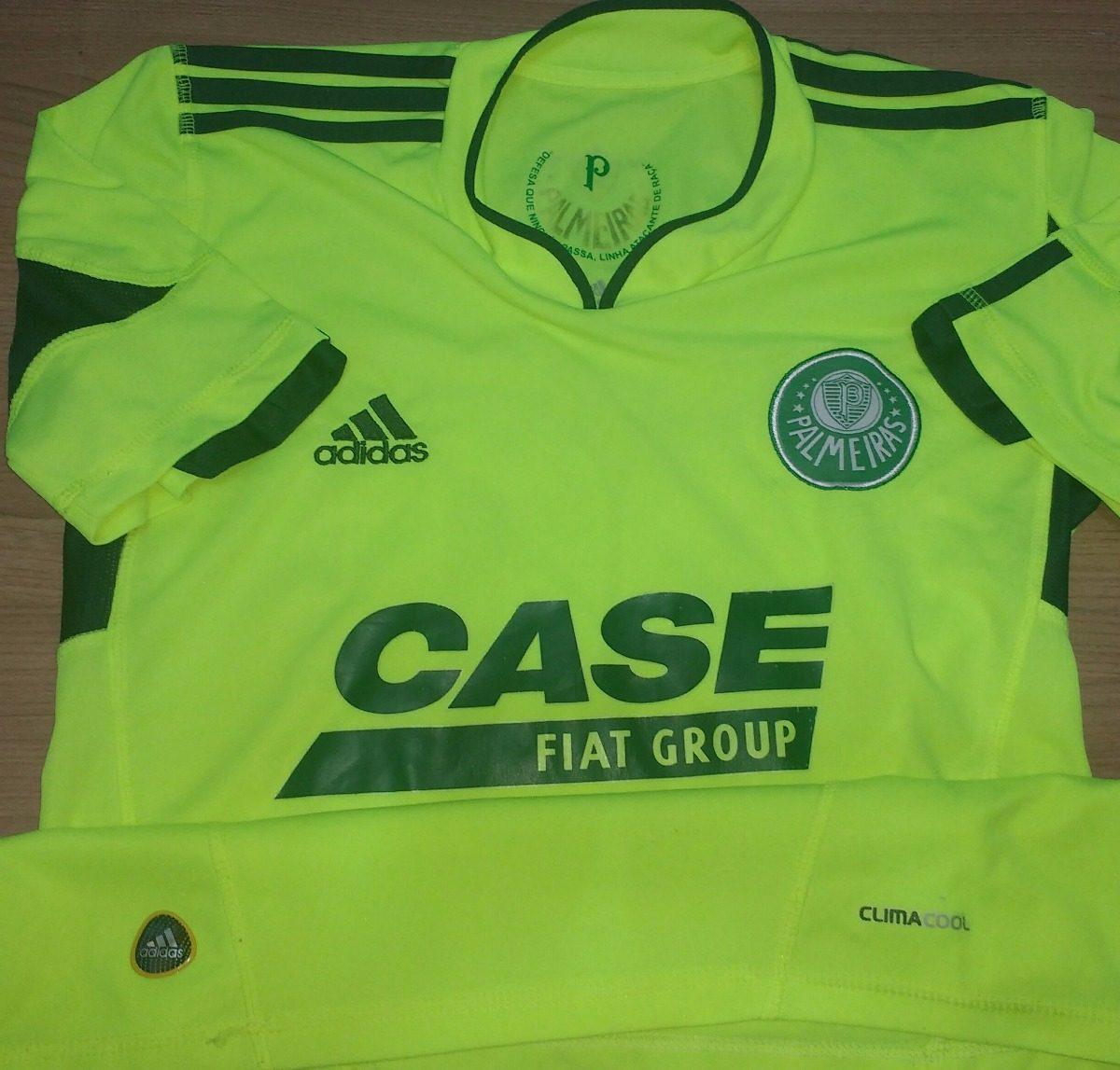 camisa do palmeiras verde limão adidas fiat case - 38. Carregando zoom. 6a380767e7d4a