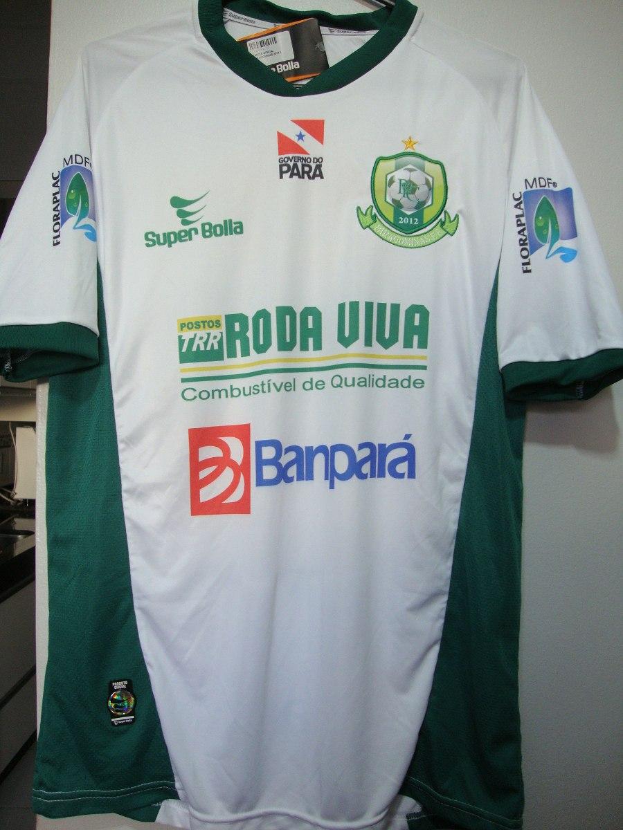 Camisa Do Paragominas  10 M Home Super Bolla - Nova!! - R  50 6f3840436e9d4