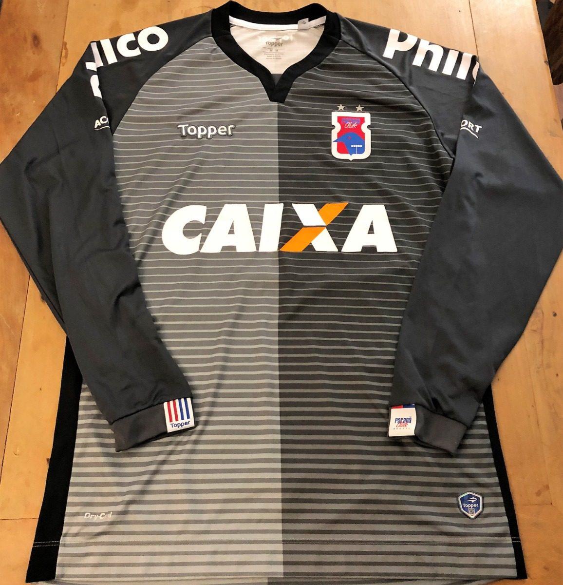 c38d45e0c3923 camisa do paraná clube usada jogo brasileiro 2018 goleiro. Carregando zoom.