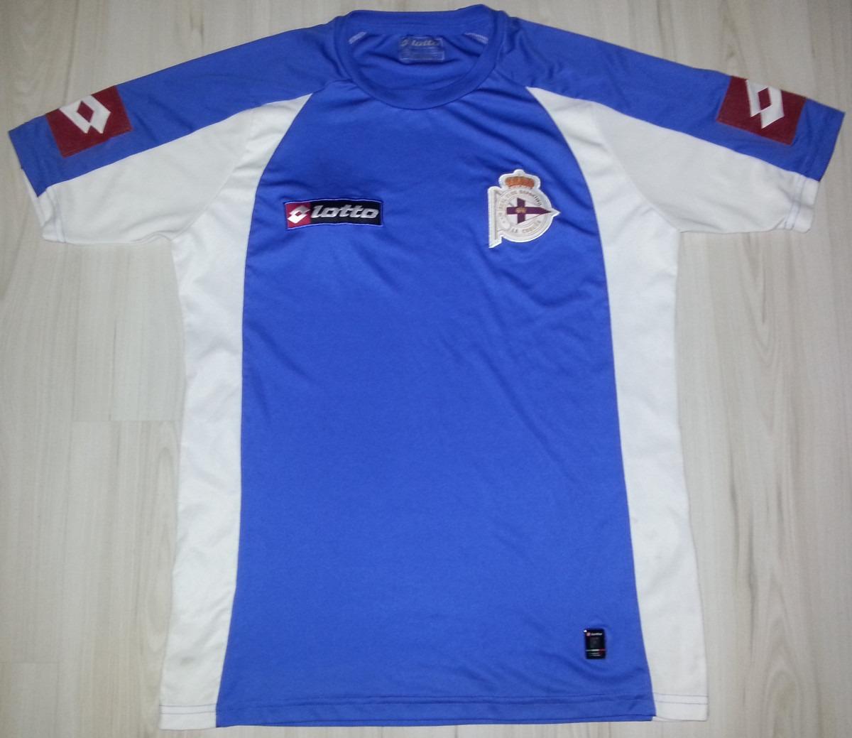 9cf72cadc Camisa Do Real Club Deportivo De La Coruña - Lotto Tam. G - R  74