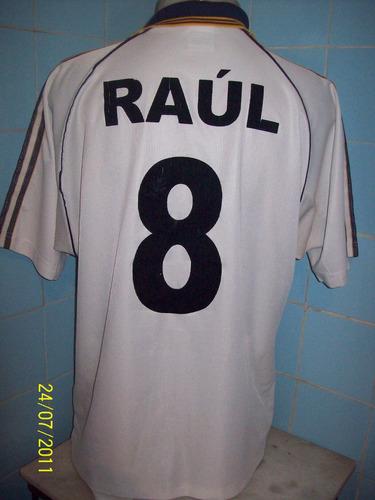 camisa do real madrid do raul n#8