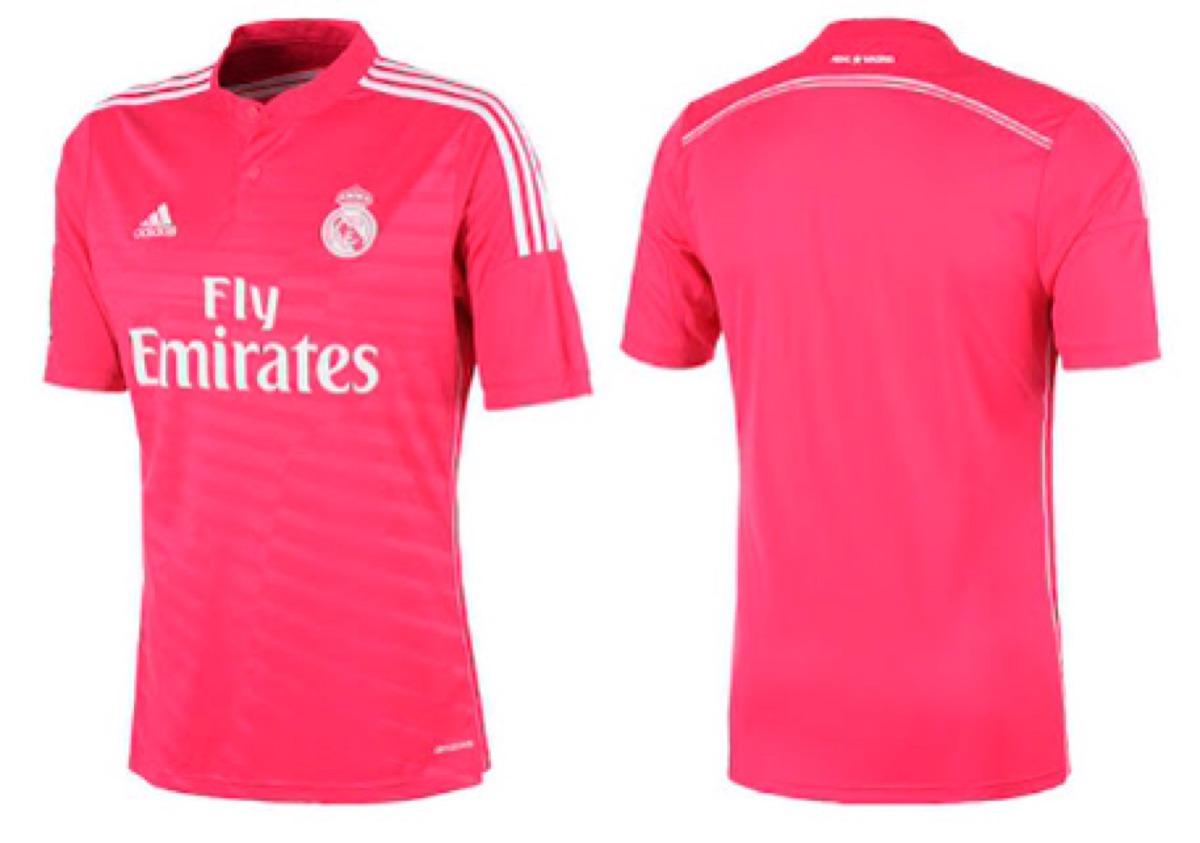 camisa do real madrid rosa p m g gg qualidade 100%. Carregando zoom. 0509a95fc130e