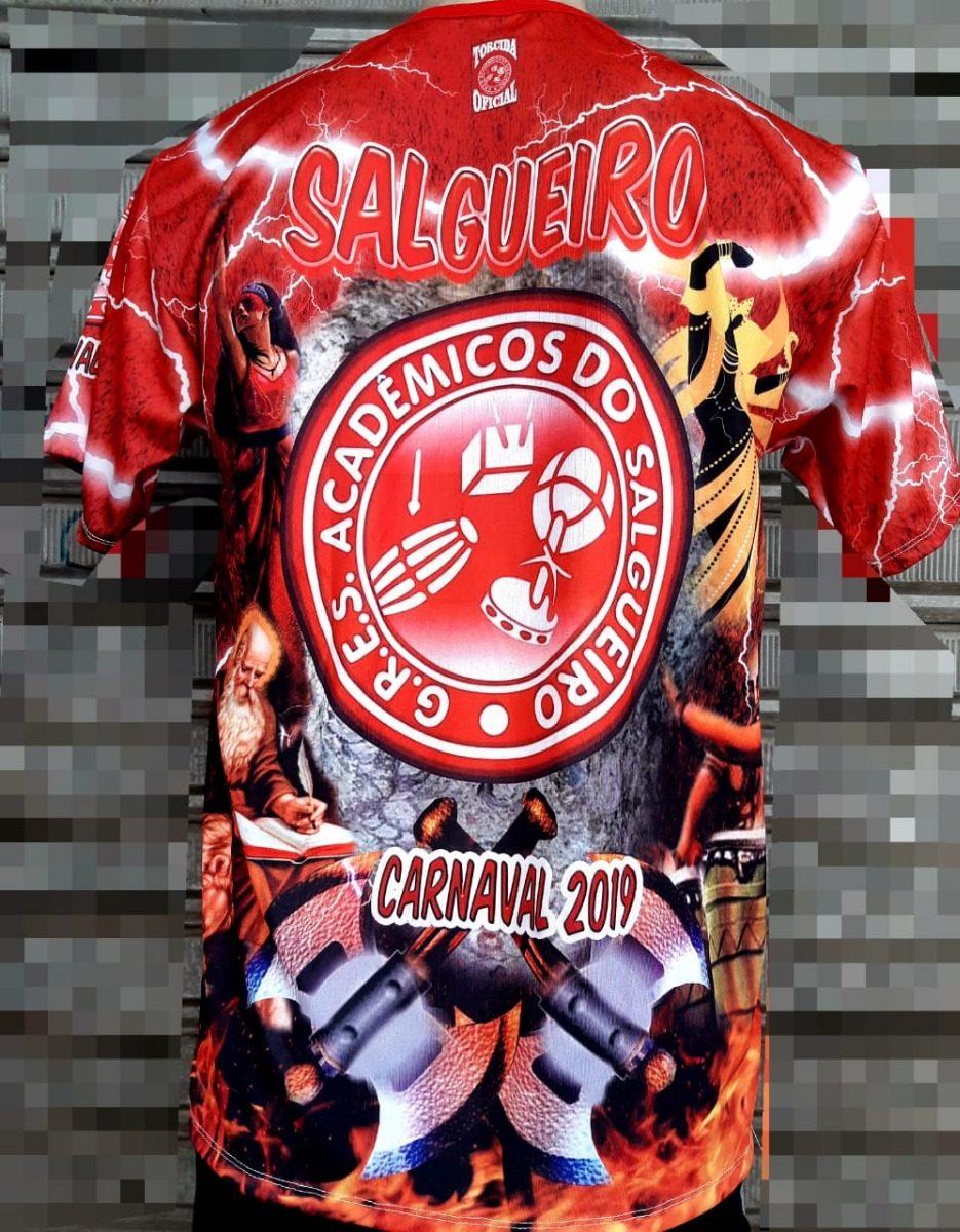 53d8f66404efa Camisa Do Salgueiro Enredo Oficial - Carnaval 2019 - R  49