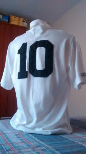 camisa do santos - 1° gol do pelé (frete grátis)