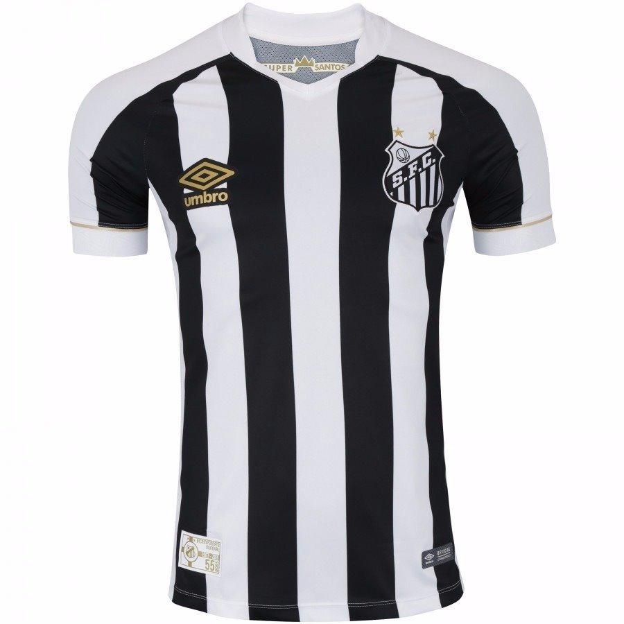 5e0a737653 camisa do santos 2018 2019 listrada pronta entrega masculino. Carregando  zoom.