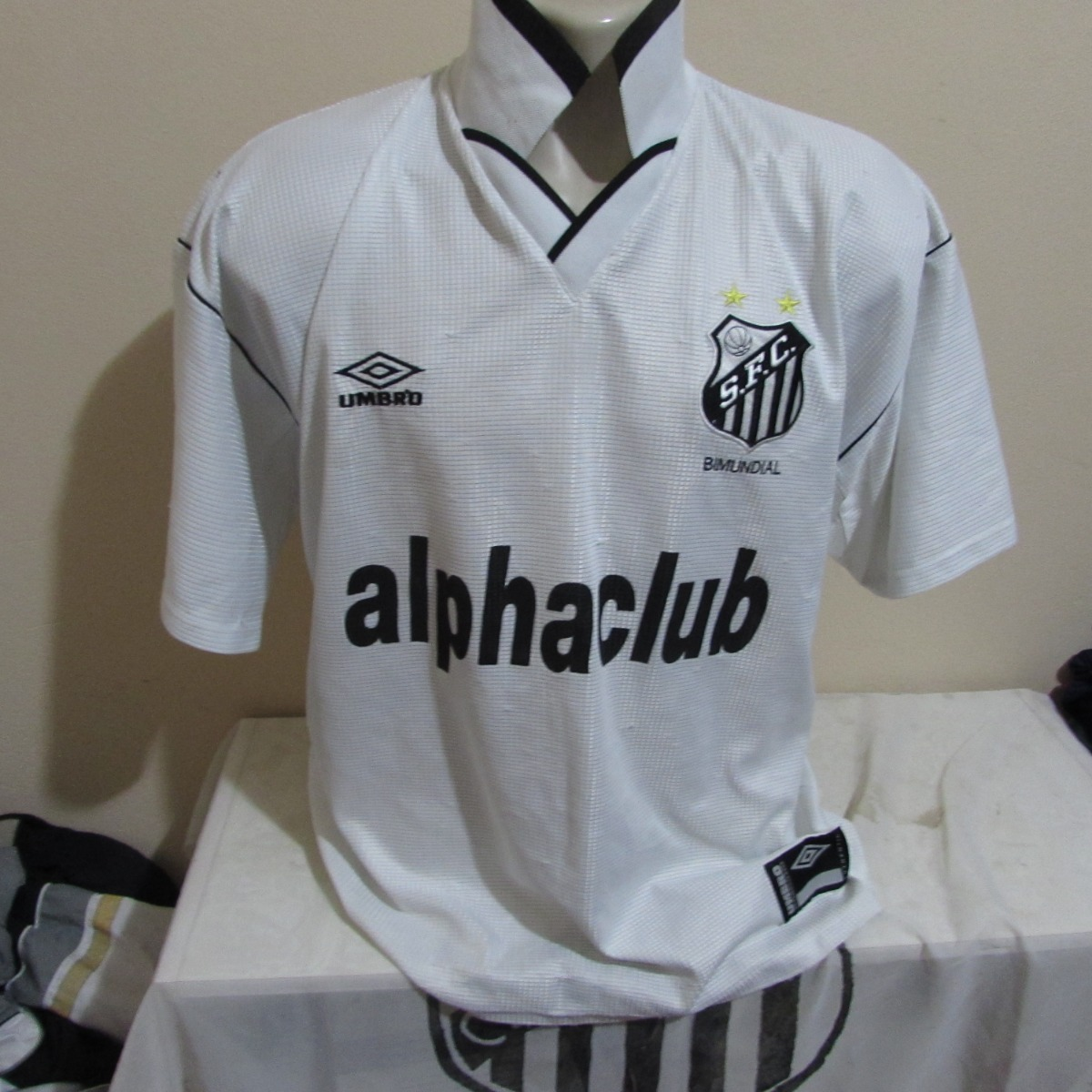 Camisa Do Santos Alphaclub - R  50 83202afef84fa