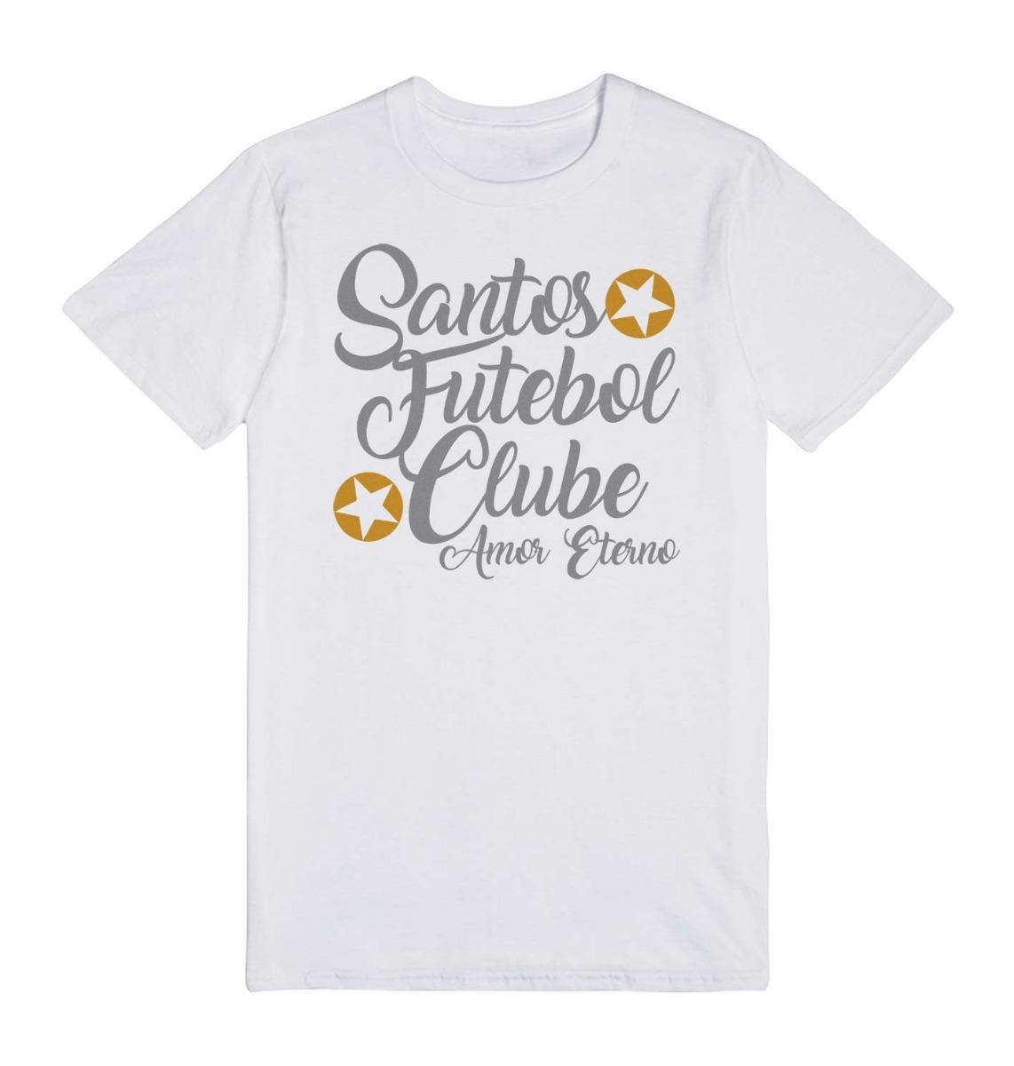 1a90ecad31 Camisa Do Santos Amor Eterno - Camiseta Do Santos - R  34