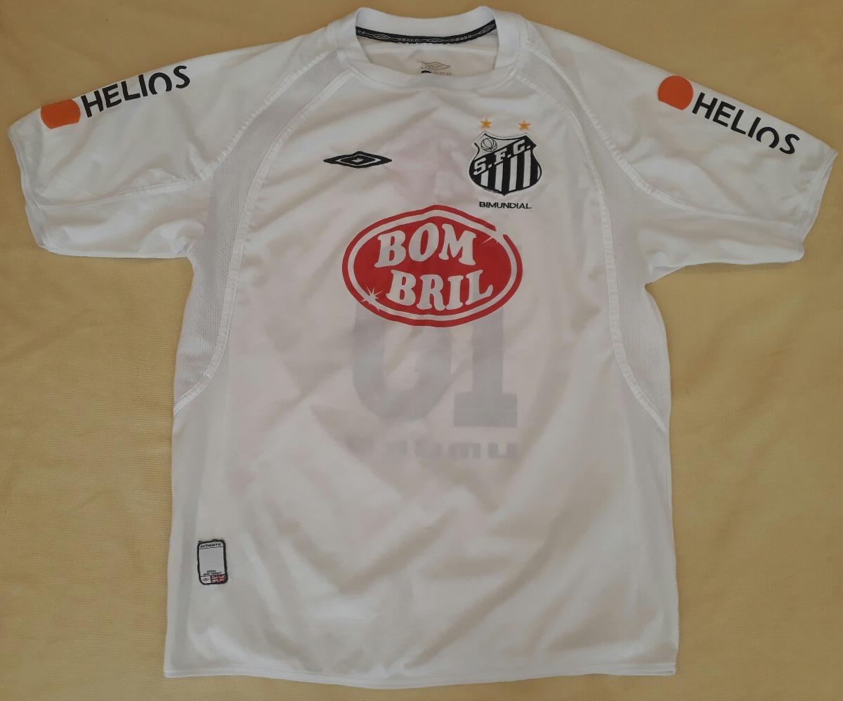 2c21d979b8a60 camisa do santos campeão brasileiro 2004 bombril umbro - 17. Carregando  zoom.