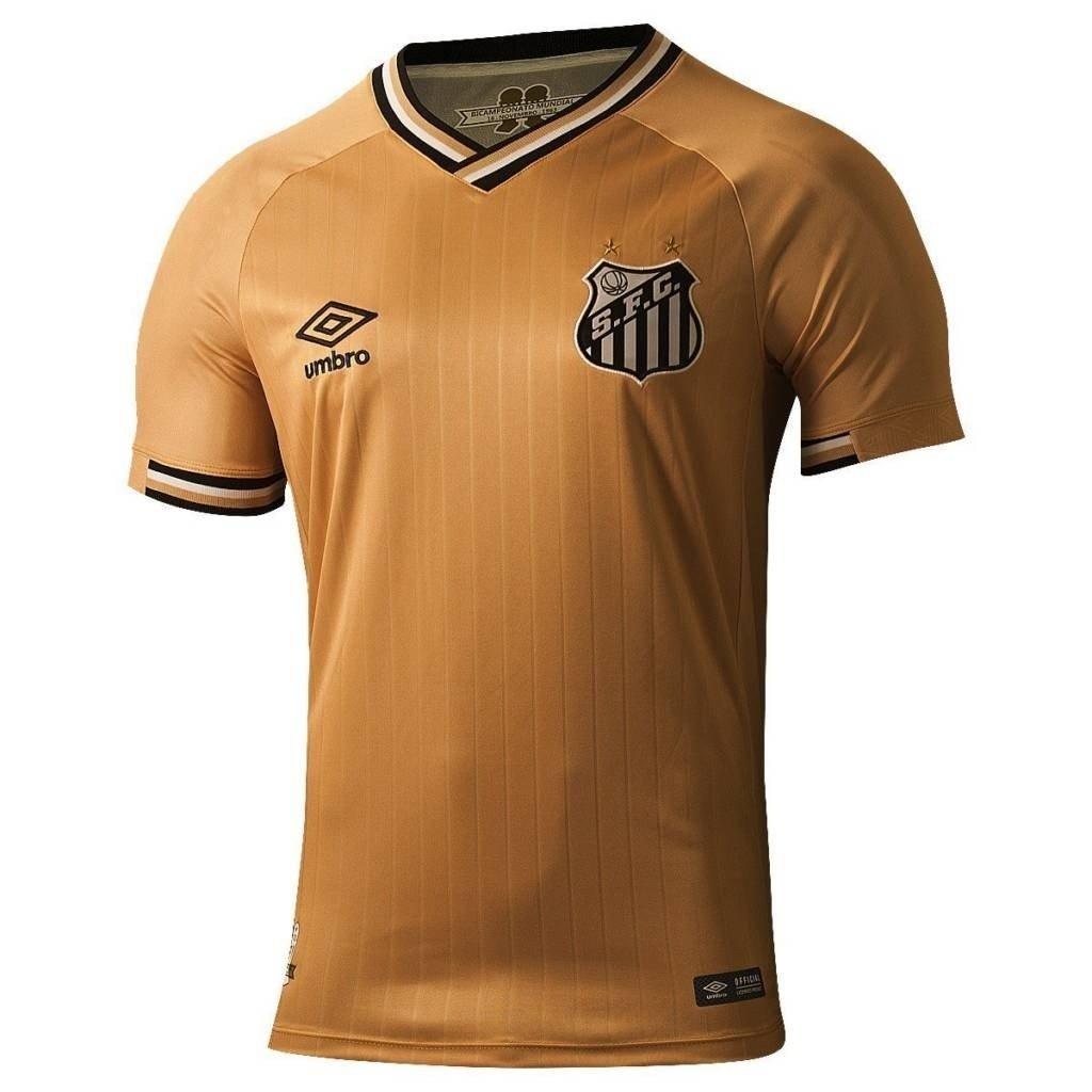 be2738fc0c camisa do santos dourada 2018 2019 masculino pronta entrega. Carregando  zoom.