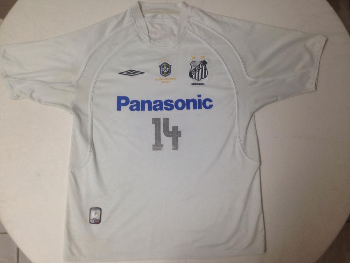 288ed25499 camisa do santos fc - ano 2005 - numero 14 - panasonic umbro. Carregando  zoom.