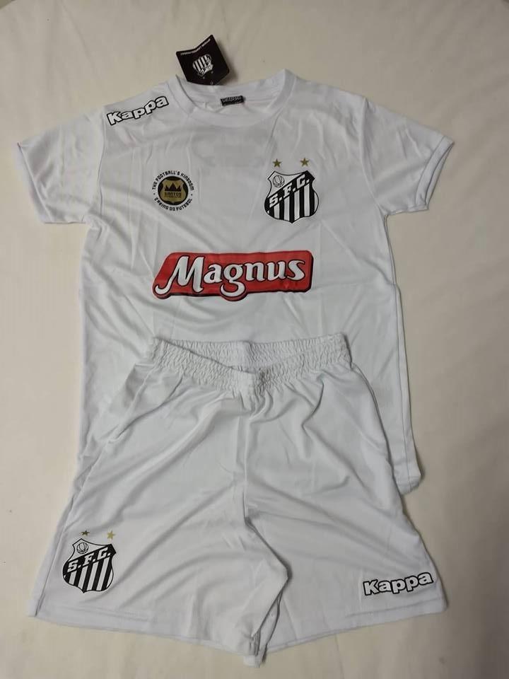 bd1b35c273 Camisa Do Santos Fc Infantil Tam.10 - Kappa - Original Nova - R  69 ...