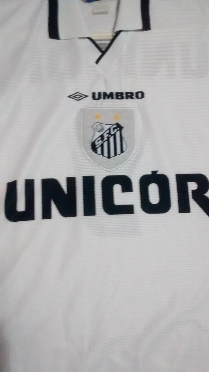 Camisa Do Santos Fc  Umbro 8e97b7b855072