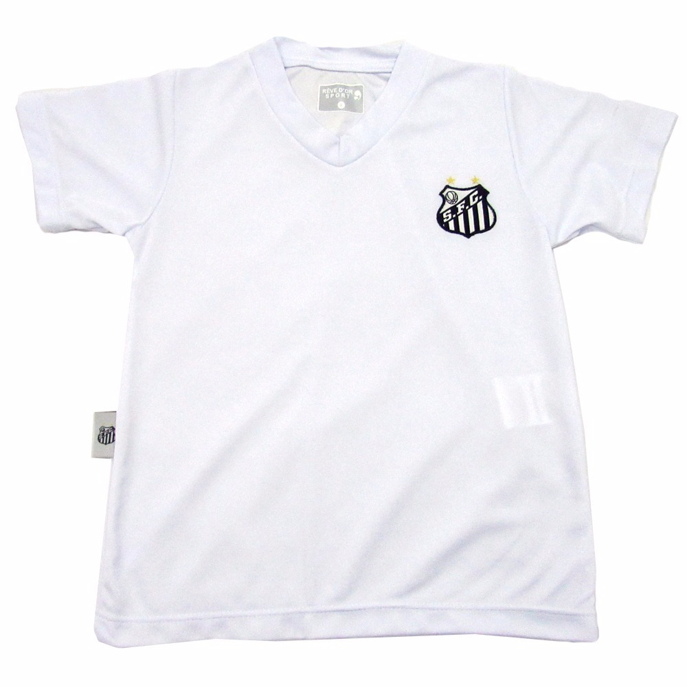camisa do santos infantil oficial menino. Carregando zoom. 181eb9bffc8c3