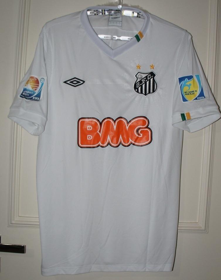 camisa do santos mundial fifa 11 neymar. Carregando zoom. 41eb1d58a210a