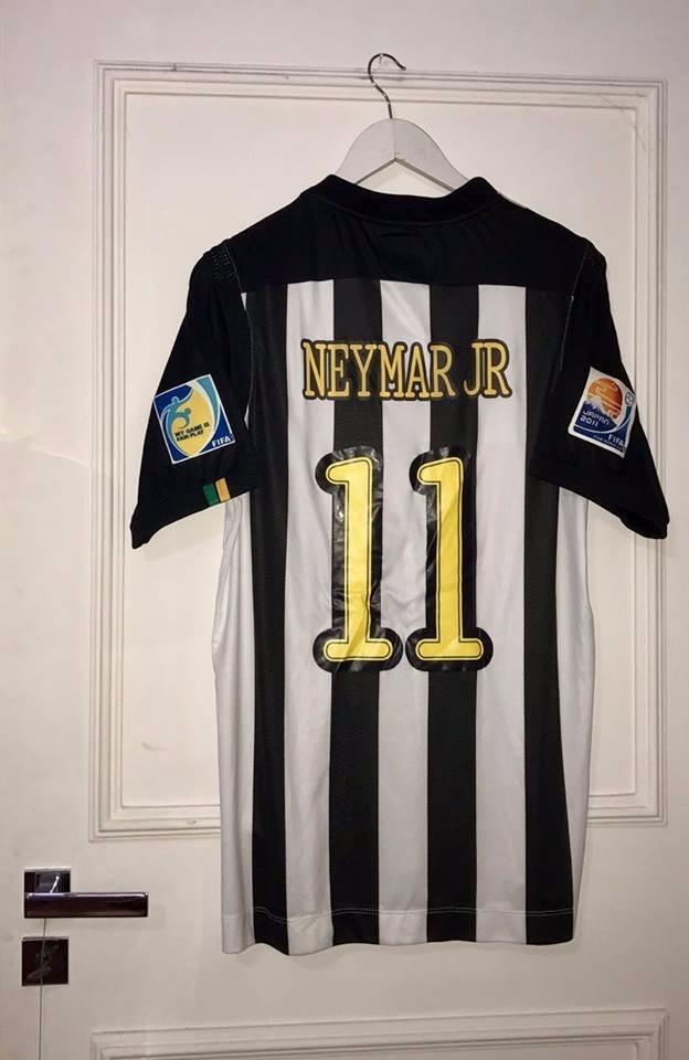 camisa do santos mundial fifa 11 neymar jr. Carregando zoom. 29c168d974799