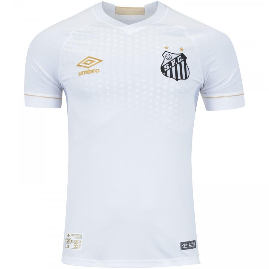 cba4174ed3 Camisa Do Santos Nova Cinza Time Futebol Frete Grátis Todas - R  99 ...