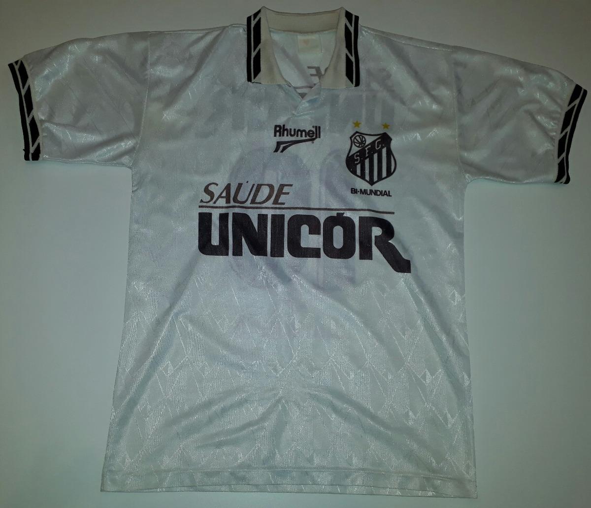 dddb4af36ae3a Camisa Do Santos Orig Rhumell Antiga 1996 Ótimo Estado - 08 - R  249 ...