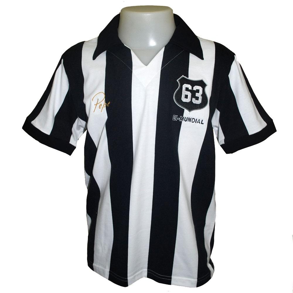 3da738466b camisa do santos retro pepe 1963 bimundial  11 listrada polo. Carregando  zoom.