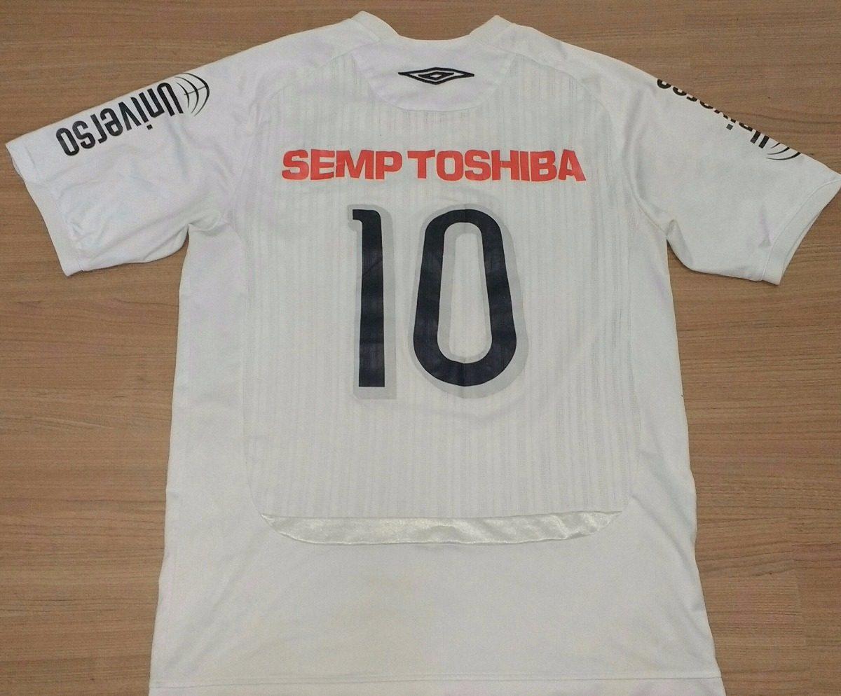 4b7e14a1444fa camisa do santos semp toshiba 100% 2009 original umbro - 01. Carregando  zoom.