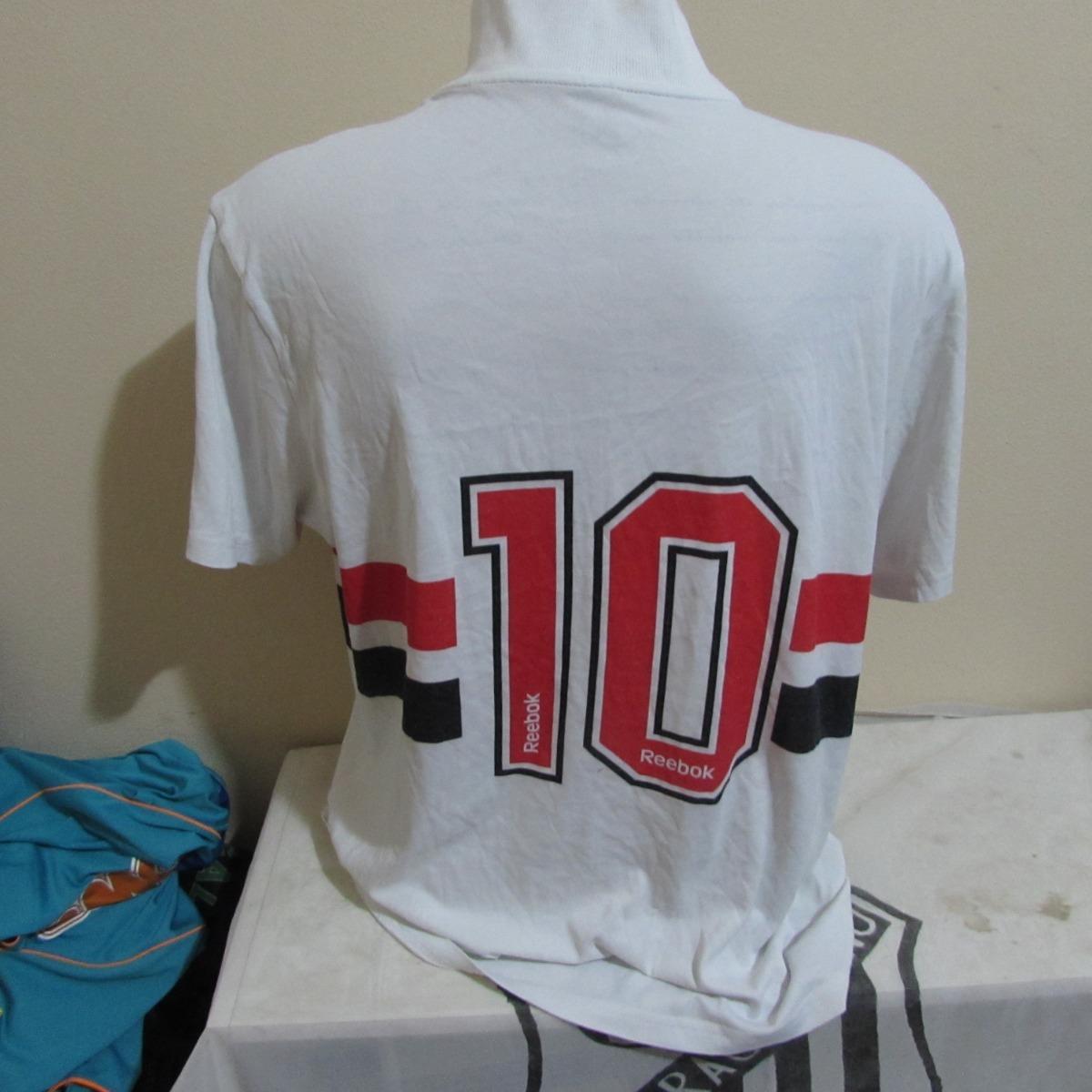 Camisa Do Sao Paulo Comemorativa Do Rai - R  120 8ebf545cdea81