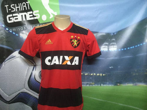 camisa do sport recife usada no brasileiro 2017.
