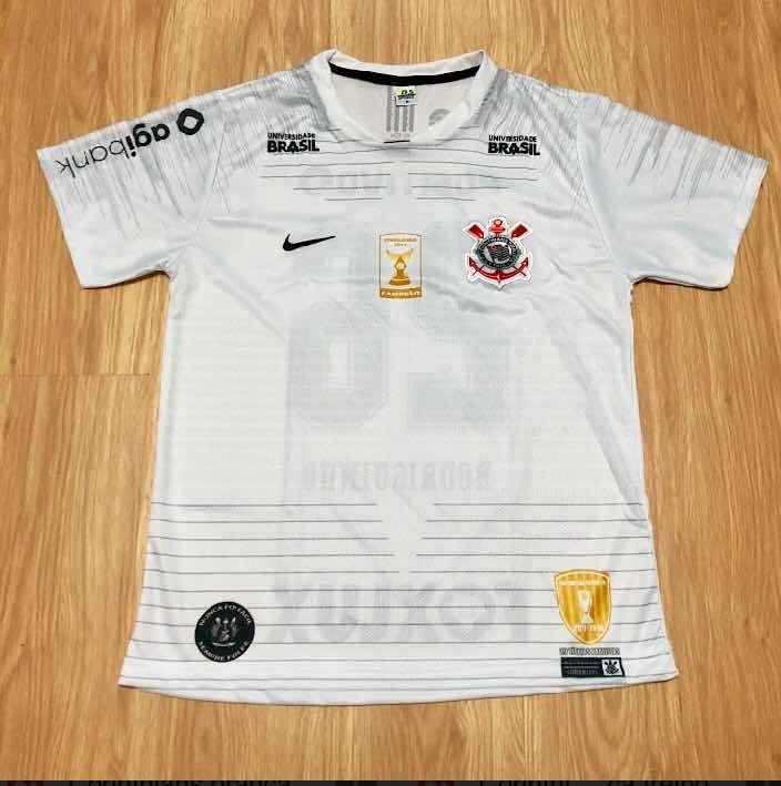 361673b4b6dad Camisa Do Timao Corinthians 2018 2019 Branca Número 10 - R  37