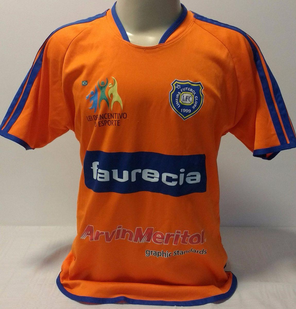 Camisa Do Time Do Limeira Futebol Clube - R  79 374507fe8e088