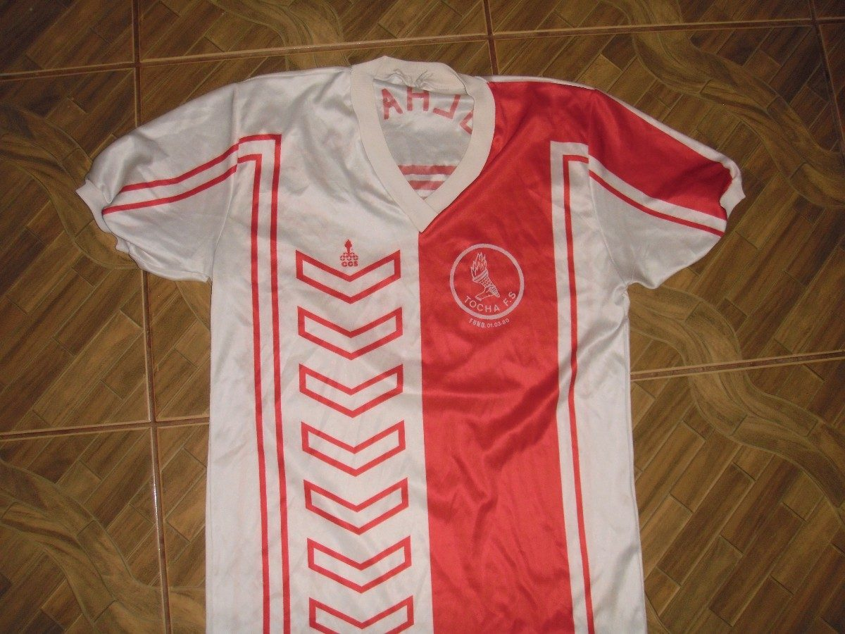 Camisa Do Tocha Futebol Clube Dinamarca 1986 - R  20 383e58e8175e9