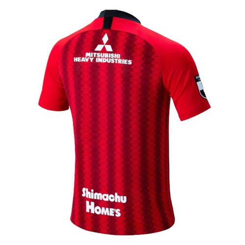 camisa do urawa red diamonds 19/20 - frete grátis