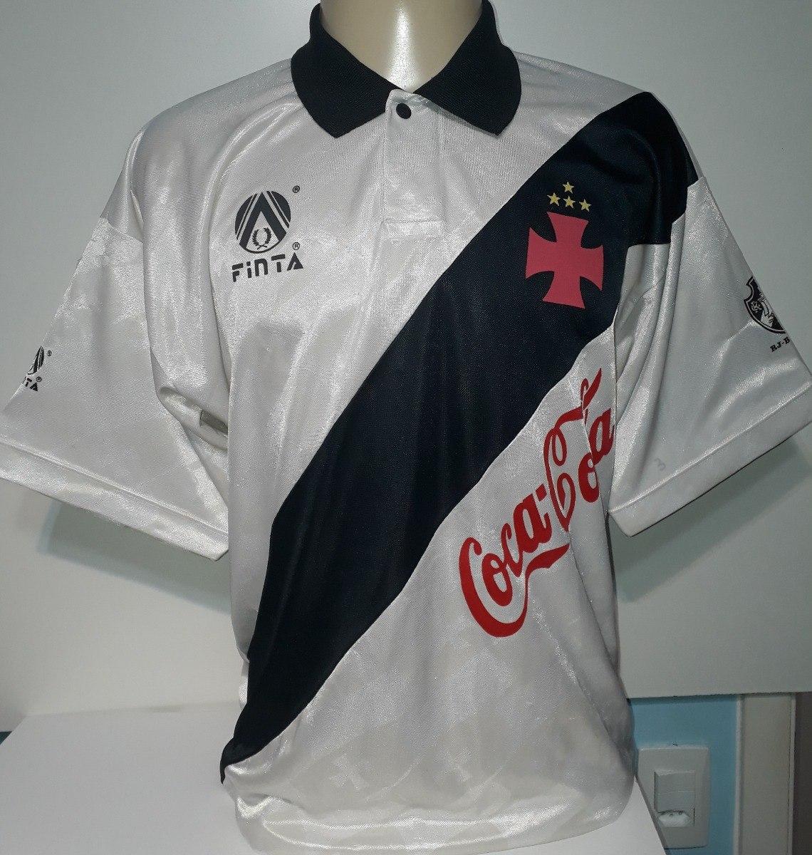 camisa do vasco antiga original finta 1993 coca cola - 93. Carregando zoom. 192f117af46f0