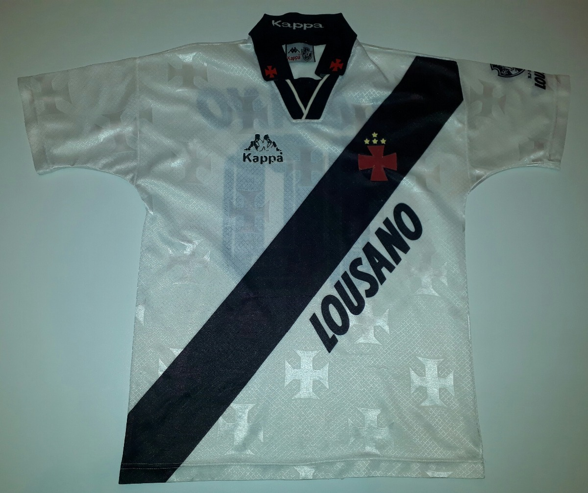 camisa do vasco antiga original kappa lousano 1996 - 88. Carregando zoom. 7d2c93a12a298