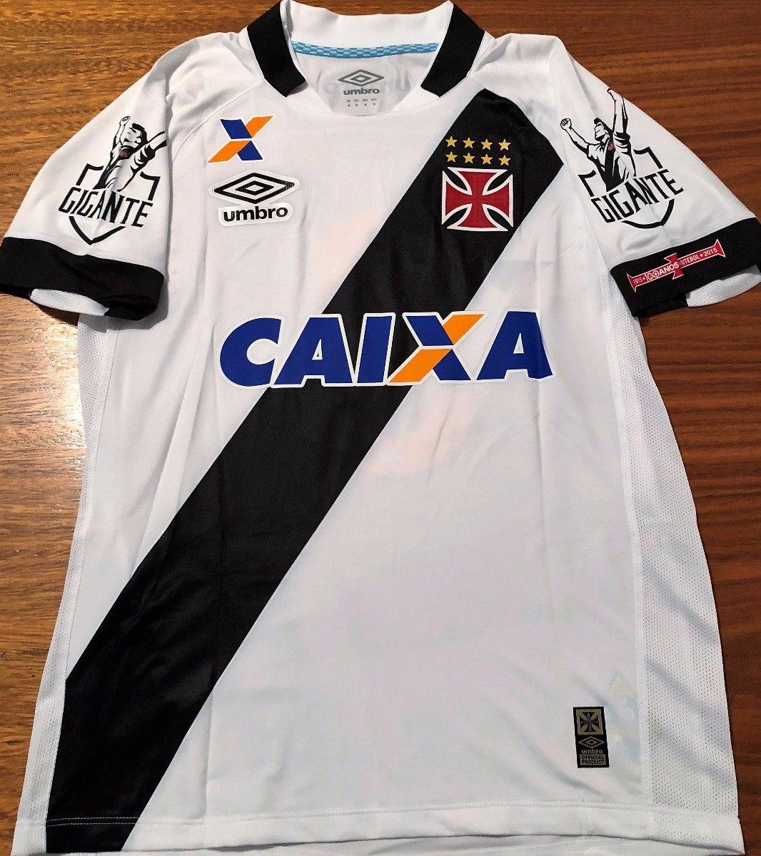 6e7b8cb57e361 camisa do vasco brasileirão 2016 de jogo branca  7. Carregando zoom.