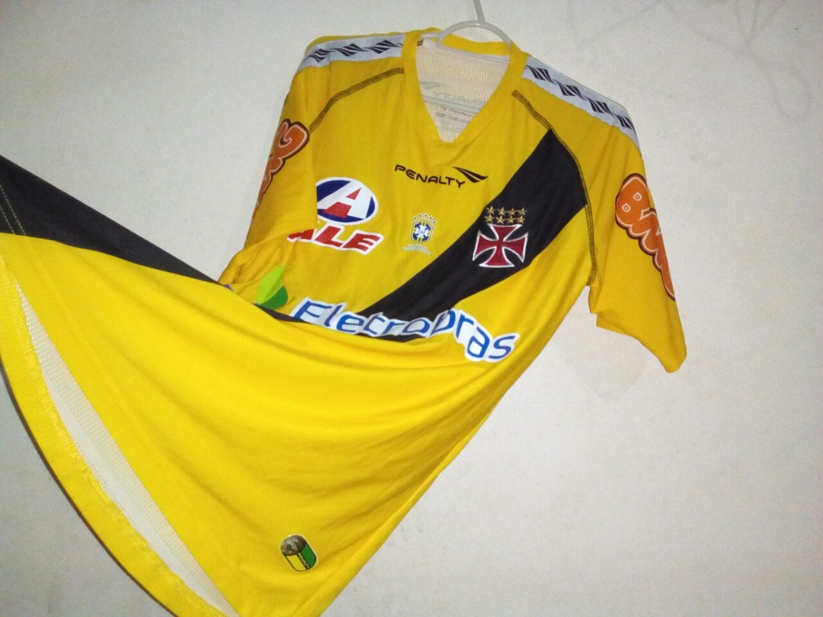 3a31666b21e7a camisa do vasco da gama amarela. Carregando zoom.