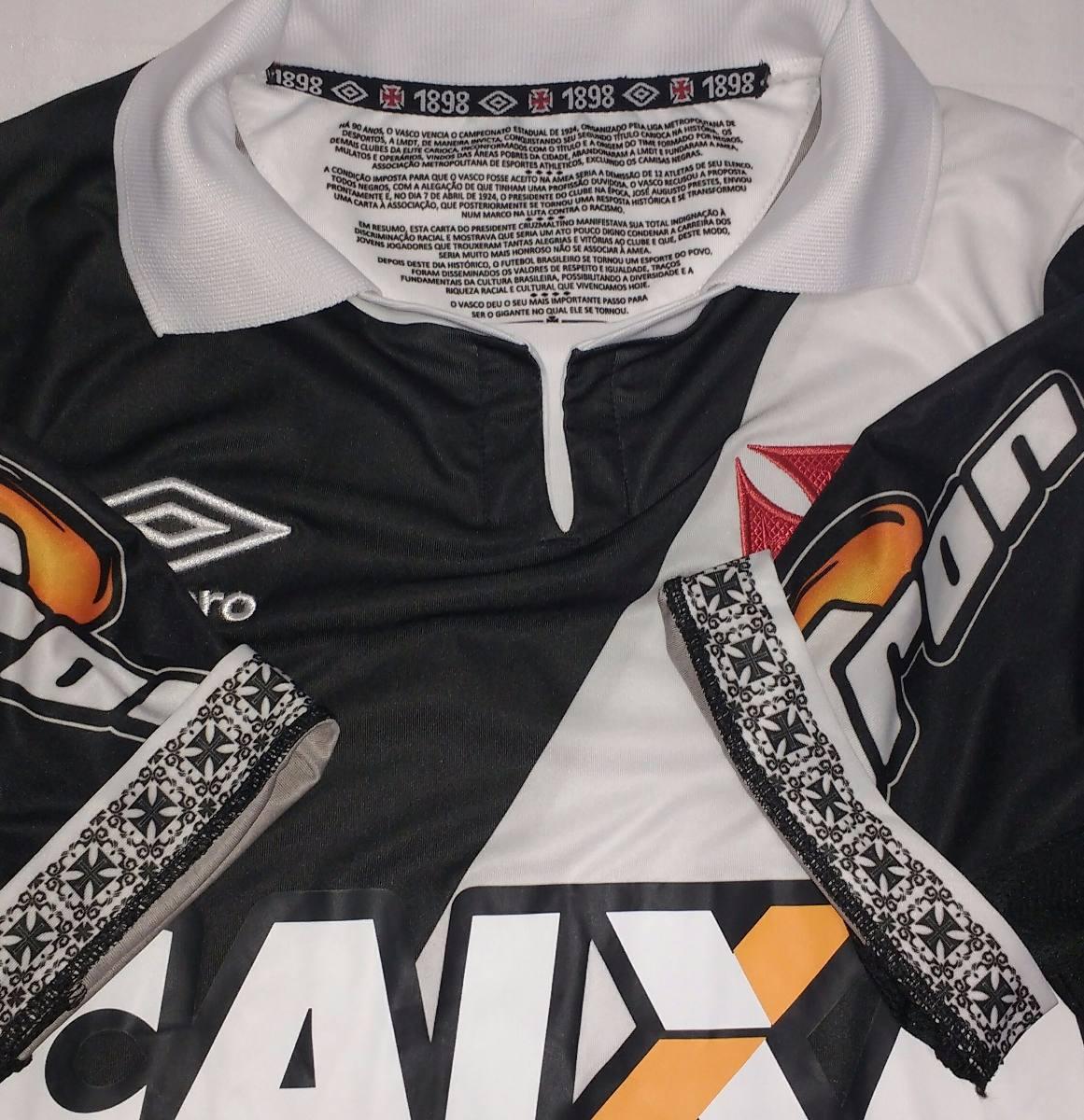 e1e08d9387 camisa do vasco da gama contra o racismo 2014 original umbro. Carregando  zoom.