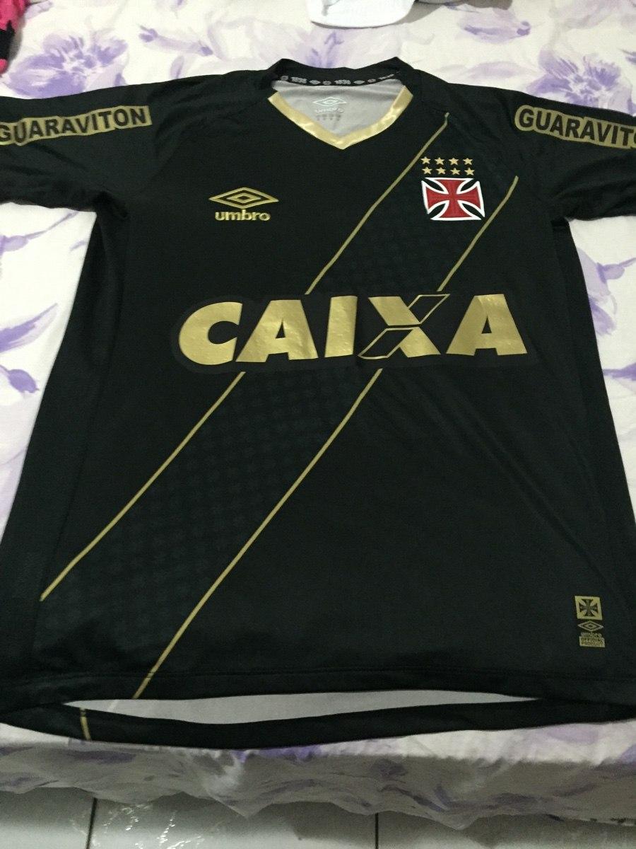05087ef879 Camisa Do Vasco De Jogo Terceiro Uniforme 2015 Tam M Show! - R  349 ...