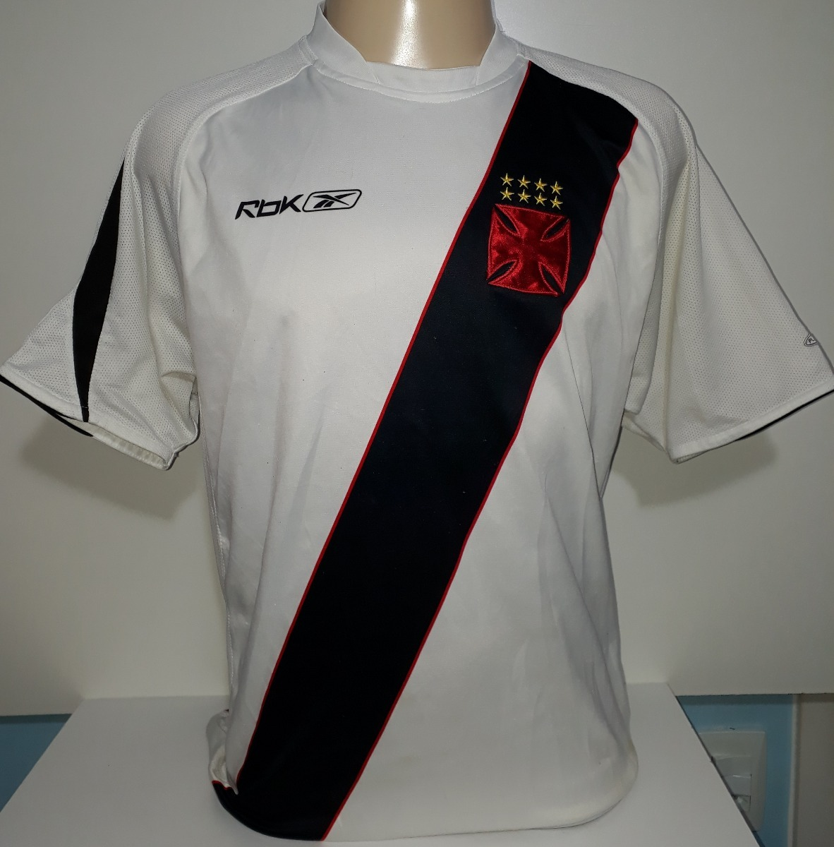 ed26fcb9cd Camisa Do Vasco Reebok Original 2006   2007 - 07 - R  149