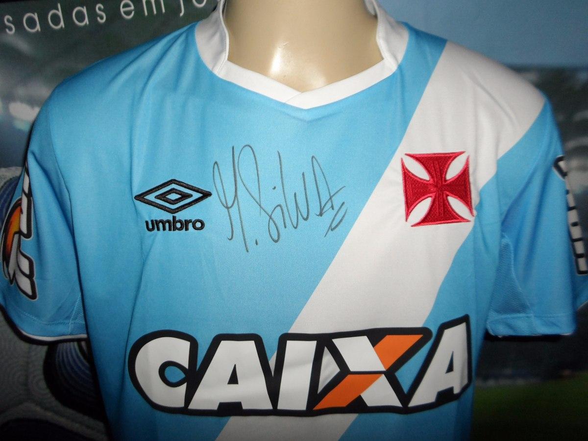 Camisa Do Vasco Usada E Autografada Pelo Martin Silva 2014. - R  350 ... 51d73fc62b316