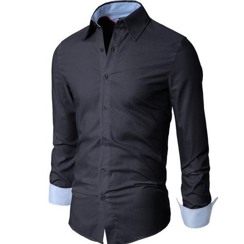 camisa doublju aa01 azul-talle xl