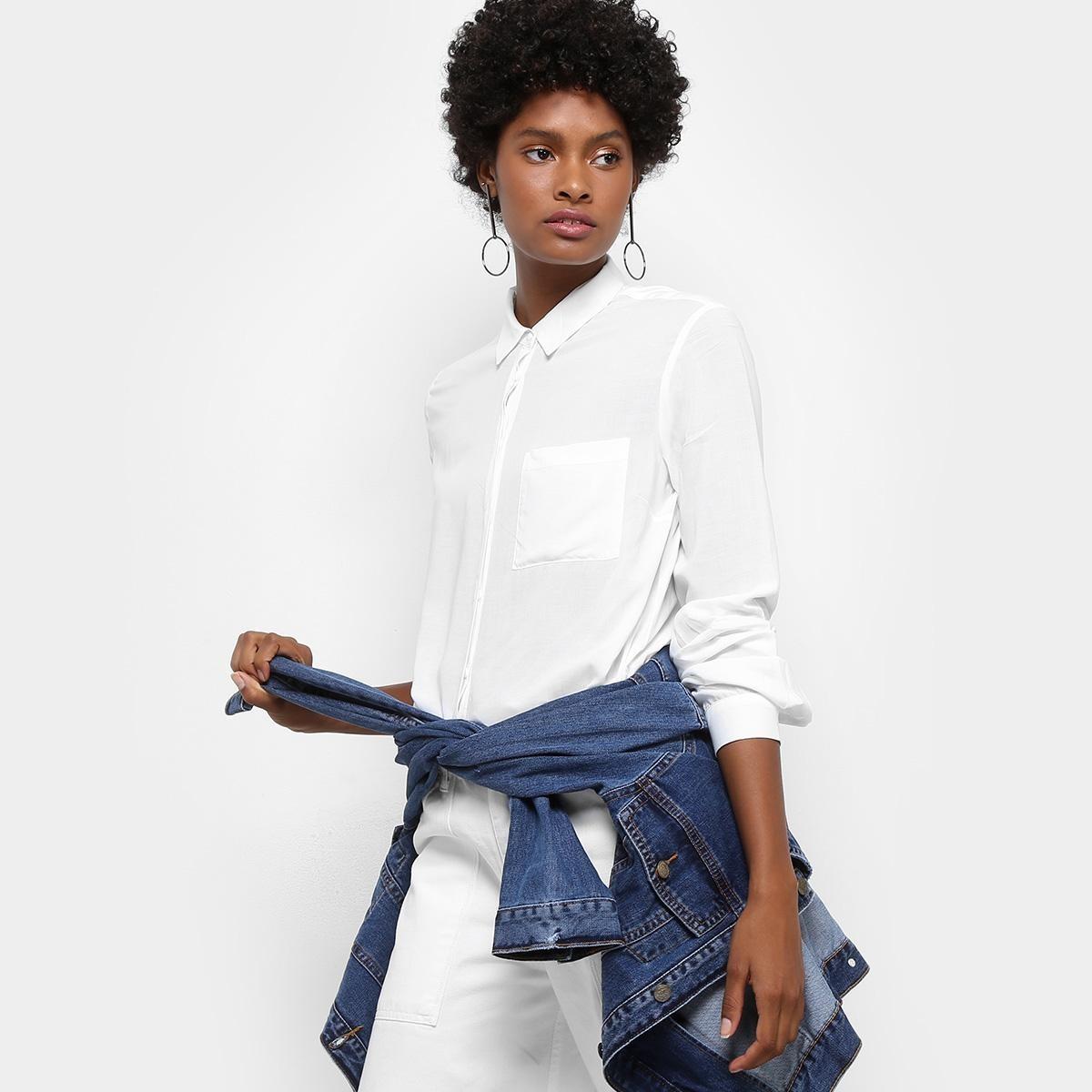 667c3e3758 camisa drezzup manga longa bolso feminina. Carregando zoom.